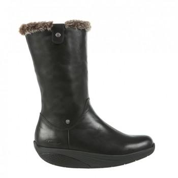 Belle Mid Boot Black Nappa