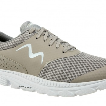 Speed 17 lace up taupe