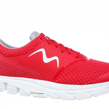 speed 17 lace up red