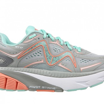 GT 17 gray/teal/peach/white