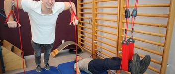 Het middel om bewegingsfuncties en/of pijn te behandelen.