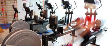Onze fitnessruimte