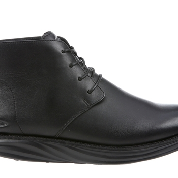 Cambridge Mid Cut Black Nappa