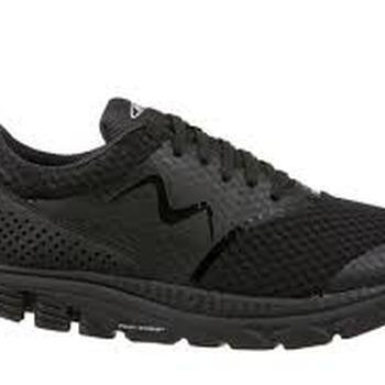 Speed 17 lace up black