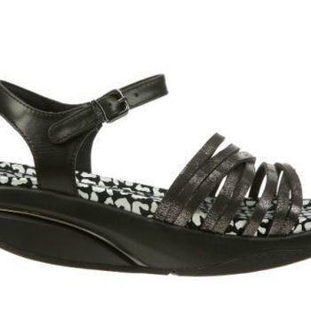 Kaweria 6 sandal metallic black