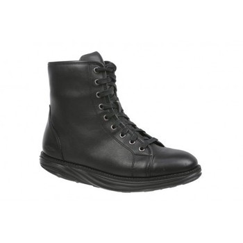 Boston Mid Boot Black Nappa
