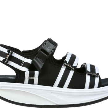 Kim Sandal Black White