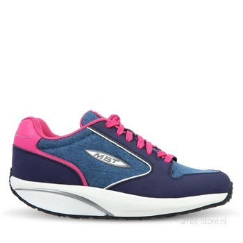MBT 1997 Navy Denim Blue Fuschia